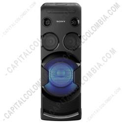 Ampliar foto de Minicomponente Sony Tipo Vertical V44, con Karaoke, Efectos DJ y HDMI (Ref. MHC-V44D)