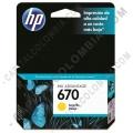 Ampliar foto de Cartucho HP 670 Amarillo para Deskjet Ink Advantage 3525/4615/4625/5525 para 300 Páginas Aprox. (Ref. CZ116AL)