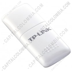 Ampliar foto de Mini Adaptador USB Inalámbrico N 150Mbps (Ref. TL-WN723N)