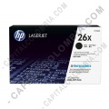 Cintas para impresoras POS, Tonner, CD, DVD y Otros, Marca: HP - Toner HP 26x Color Negro para Laserjet M426fdw, M402dne, M402dn, para 9000 páginas Aprox. - CF226X