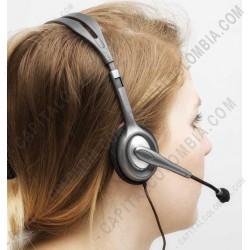 Ampliar foto de Stereo Headset H111 (Auriculares con micrófono) (Ref. 981-000612)