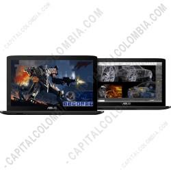 "Ampliar foto de Portátil ASUS Gamer GL552VW-DM643T Core™ i7-6700HQ, Pantalla 15.6"" FHD, RAM 4GB, DD 1TB, Video NVidia Geforce GTX960m de 2Gb  (Ref. 90NB09I3-M07810_G)"