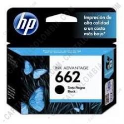 Ampliar foto de Cartucho HP 662 de color Negro para Deskjet Ink Advantage 2515, 3515, 1515, 1015, 3545, 4645, 2545, 2645 para 360 Páginas Aprox. (Ref. CZ103AL)