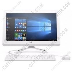 """Ampliar foto de Computador HP todo en uno Core-I3/4GB/1TB/21.5"""" color blanco 22-b009la (Ref. V9C07AA#ABM)"""