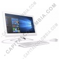 """Computadores y Portátiles, Marca: HP - Computador HP todo en uno Core-I3/4GB/1TB/21.5"""" color blanco 22-b009la (Ref. V9C07AA#ABM)"""