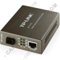 Conversor 10/100Mbps RJ45 a 100Mbps Modo único SC (MC111CS)