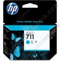Cartucho HP 711 Cyan para Designjet T120/T520 de 29ml (Ref. CZ130A)