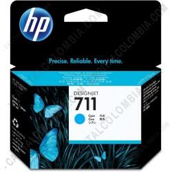 Ampliar foto de Cartucho HP 711 Cyan para Designjet T120/T520 de 29ml (Ref. CZ130A)