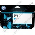 Cartucho HP 727 Cyan Designjet T920, T1500, T930, T2530, T2500 de 130ml (Ref. B3P19A)