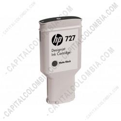 Ampliar foto de Cartucho HP 727 Matte Black DesignJet T920, T1500, T250000, 300ml (Ref. C1Q12A)