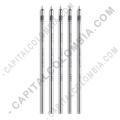 Minas de tinta (5 unidades) Wacom Finetip FT 0.4 Refill para lápiz de tinta de Intuos Pro Paper Edition - ACK22208