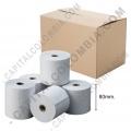 Ampliar foto de Caja de Rollos de Papel Térmico de 80mm X 60mts X 60 Unidades
