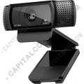 Teclados y Mouse para Gamers, Oficina y Hogar, Webcams y Diademas, Marca: Logitech - Camara Web Definición Full HD 1080p Logitech C920 (Ref. 960-000764)