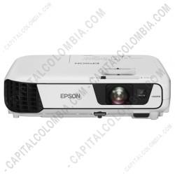 Ampliar foto de Video Proyector Epson 3LCD PowerLite X36+ 3.600 Lumens XGA 1024x768 HDMI Modulo Inalámbrico incluido (Ref. V11H723021)