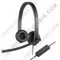 Accesorios de Tecnología, Marca: Logitech - Diadema Logitech USB H570e Stereo - 981-000574