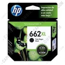 Ampliar foto de Cartucho HP 662xl Negro para Deskjet Ink Advantage 2515, 3515, 1515, 1015, 3545, 4645, 2545, 2645 para 360 Páginas Aprox. - CZ105AL