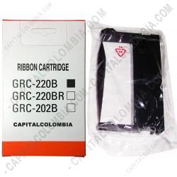 Ampliar foto de Cinta para Impresora Bixolon SRP-270/SRP-275 (4 unidades) - GRC-220B