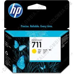 Ampliar foto de Cartucho HP 711 Amarillo para Designjet T120/T520 de 29ml - CZ132A