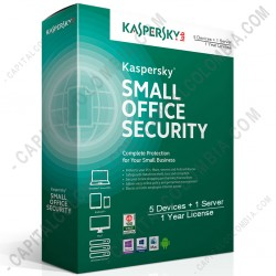 Ampliar foto de Kaspersky Small Office Security para 5 Dispositivos, 1 Servidor, Licencia por 1 año