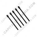 Kit de cinco (5) puntas de repuesto negras para lápiz Wacom Pro Pen 2 - ACK22201