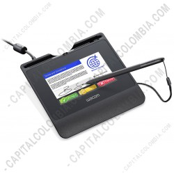 Ampliar foto de Tableta Wacom Capturador de Firmas conexión USB - STU540