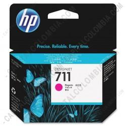 Ampliar foto de Cartucho HP 711 Magenta para Designjet T120/T520 de 29ml - Ref. CZ131A