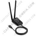 Adaptador Tp-link conexión USB Inalámbrico de Alta Potencia 300Mbps - Ref TL-WN8200ND