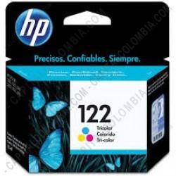 Ampliar foto de Cartucho HP 122 Tricolor Deskjet 1000/2050/3050 para 100 Páginas Aprox. - Ref.CH562HL