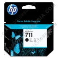 Cartucho HP 711 color Negro para Designjet T120/T520 de 80ml - Ref. CZ133A