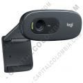 Cámara Web Logitech C270 para Videoconferencias Resolución HD 720p