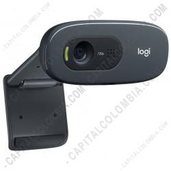 Ampliar foto de Cámara Web Logitech C270 para Videoconferencias Resolución HD 720p