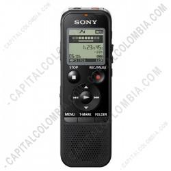Ampliar foto de Grabador Sony de voz digital con USB, memoria 4GB ICD-PX470