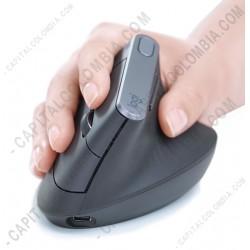 Ampliar foto de Mouse MX Vertical Ergonómico Logitech Inalámbrico Recargable