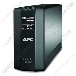 Ampliar foto de UPS APC Unidad Back-UPS Pro 700VA/420w 120VCA - BR700G