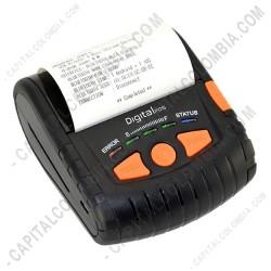 "Ampliar foto de Impresora portátil 80mm - 3"" USB - Bluetooth - DigitalPos DIG-380"