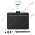 Tabla Digitalizadora Wacom Intuos Comfort S Pen Bluetooth Black - Lapiz 4K - inalámbrica - CTL4100WLK0