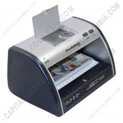 Ampliar foto de Detector de Billetes Falsos UV/MG/WM/Micro-Printing - Accubanker D430