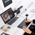 Tablas Digitalizadoras Wacom, Marca: Wacom - Tableta Wacom Intuos Pro Touch Small PTH460 - Lápiz con 8.192 niveles de presión