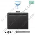 Tabla Digitalizadora Wacom Intuos Comfort S Pen Bluetooth Verde Pistacho - Lapiz 4K - inalámbrica - CTL4100WLE0