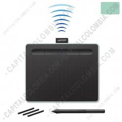 Ampliar foto de Tabla Digitalizadora Wacom Intuos Comfort S Pen Bluetooth Verde Pistacho - Lapiz 4K - inalámbrica - CTL4100WLE0