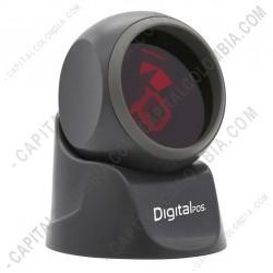 Ampliar foto de Lector de código de barras omnidireccional DigitalPos DIG-7130 conexión USB