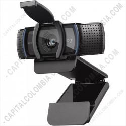 Ampliar foto de Cámara Web Logitech C920s PRO con tapa de obturador FHD 1080x720 USB