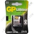 Batería GP para cámara fotográfica Lithium Photo de 6V - Ref. CR-P2