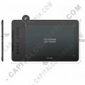Tabletas Digitalizadoras XP-Pen, Marca: Xp-Pen - Tabla Digitalizadora XP-Pen Deco 01 v2 con lápiz 8K y área activa de 25.4cm x 15.87cm
