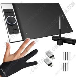 Ampliar foto de Tabla Digitalizadora XP-Pen Deco Pro M con lápiz 8K y área activa de 27.94cm x 15.24cm