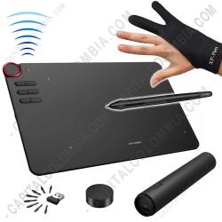 Ampliar foto de Tabla Digitalizadora XP-Pen DECO03 Inalámbrica y USB con lápiz 8K - área activa de 25.4cm x 14.27cm