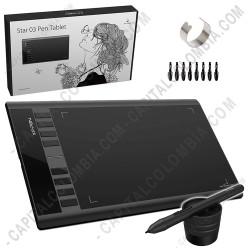 Ampliar foto de Tabla Digitalizadora XP-Pen Star 03 V2 con lápiz 8K - área activa de 25.4cm x 15.24cm