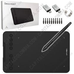Ampliar foto de Tabla Digitalizadora XP-Pen Deco Mini7 con lápiz 8K - área activa de 17.78cm x 11.11cm - Reemplaza G640S
