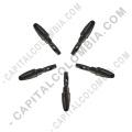 Ampliar foto de Kit de cinco (5) puntas de repuesto negras para tablas digitalizadoras Xp-Pen con lápiz P01, P02, P03 y P05