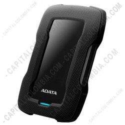 Ampliar foto de Disco Duro Externo ADATA 4 Terabytes color negro - AHD330-4TU31-CBK